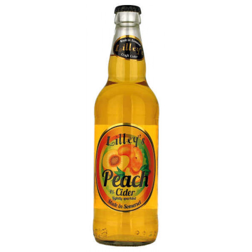 Lilleys Peach Cider