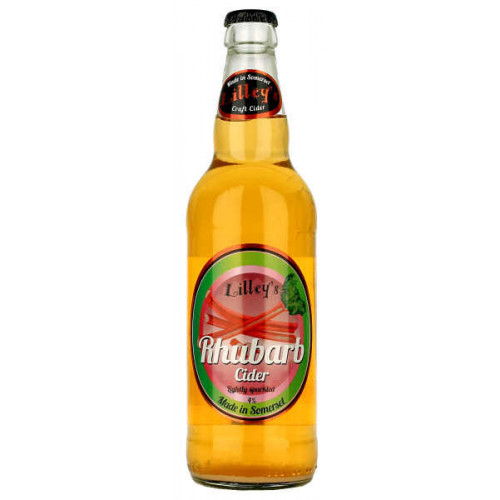 Lilleys Rhubarb Cider