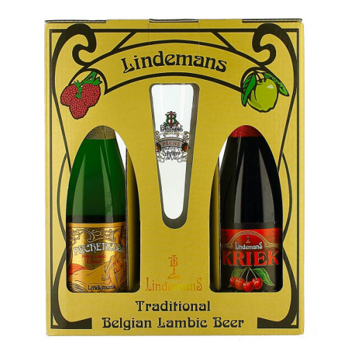 Lindemans Gift Pack (2x37.5cl + 1 Glass)