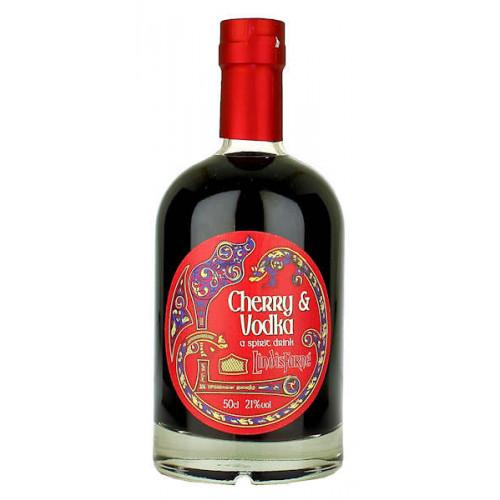 Lindisfarne Cherry and Vodka Liqueur