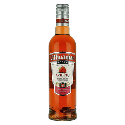 Lithuanian Raspberry Vodka