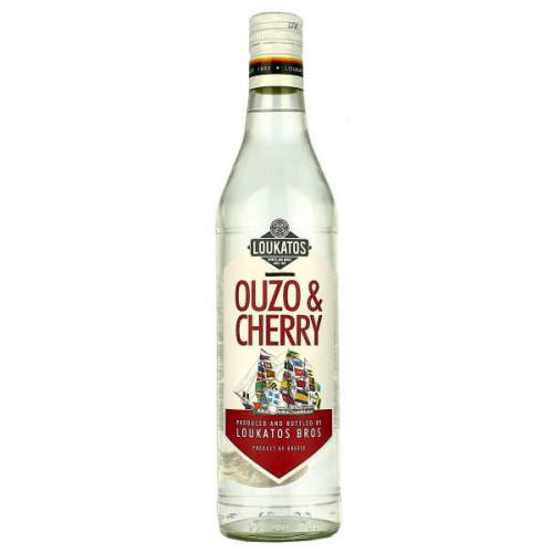 Loukatos Ouzo and Cherry