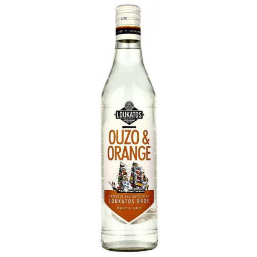Loukatos Ouzo and Orange