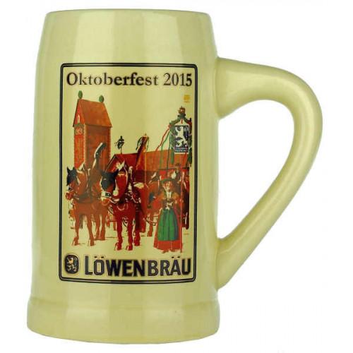 Lowenbrau Oktoberfest 2015 Pottery Stein