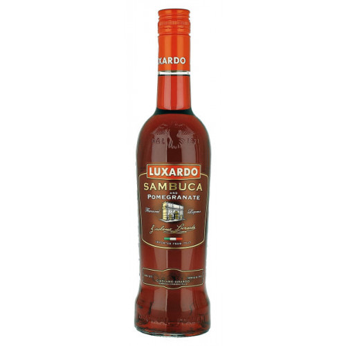 Luxardo Sambuca and Pomegranate