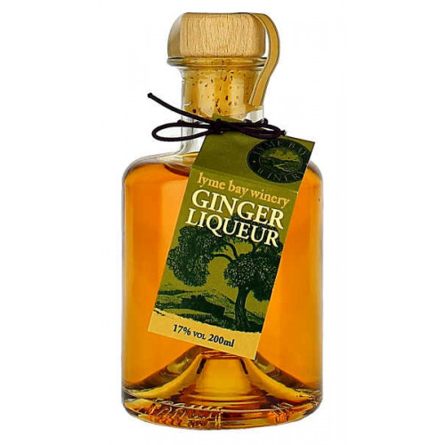 Lyme Bay Collectors Ginger Liqueur (Whisky and Ginger) 200ml