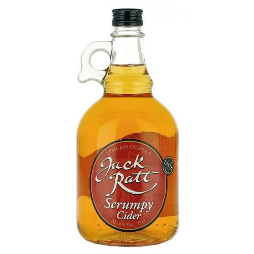 Lyme Bay Jack Ratt Scrumpy Cider 1 Litre