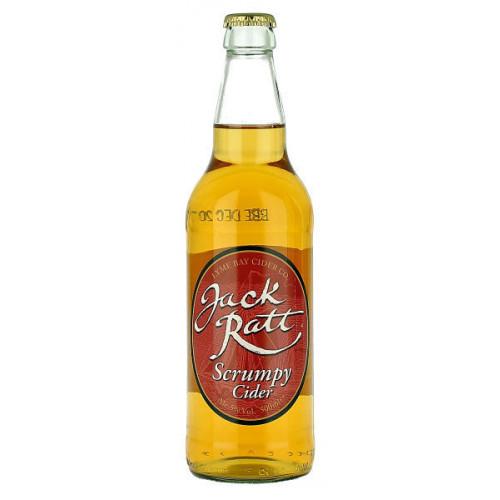 Lyme Bay Jack Ratt Scrumpy Cider 500ml