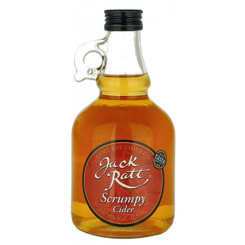 Lyme Bay Jack Ratt Scrumpy Cider 500ml Flagon