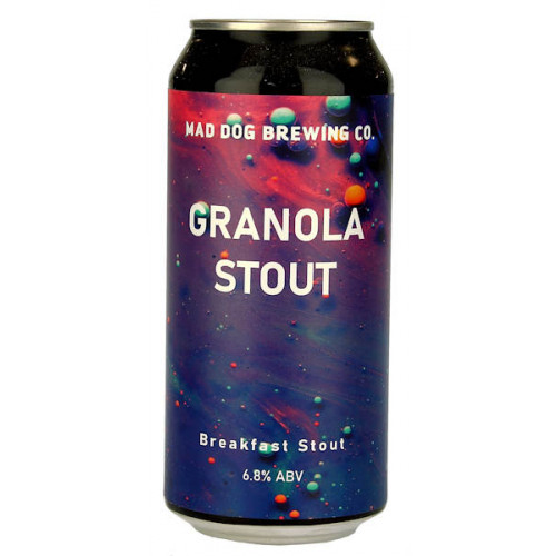 Mad Dog Granola Stout Can