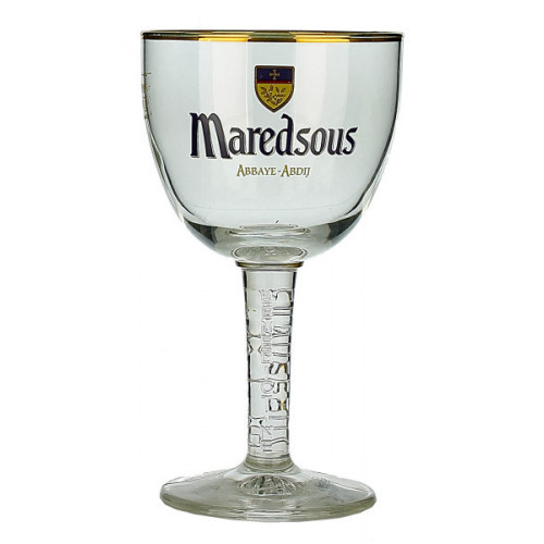 Maredsous Chalice Glass (0.33L/Half Pint)