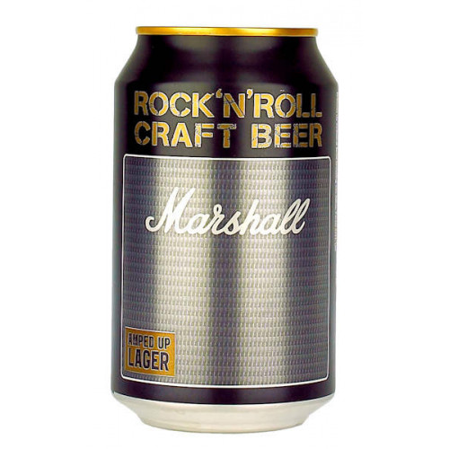 Marshall Rock 'N' Roll Craft Beer Amped Up Lager Can
