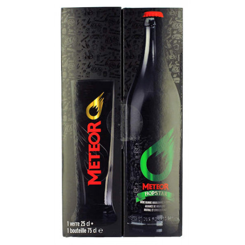 Meteor Lab 1 Bottle Gift Pack with Glass