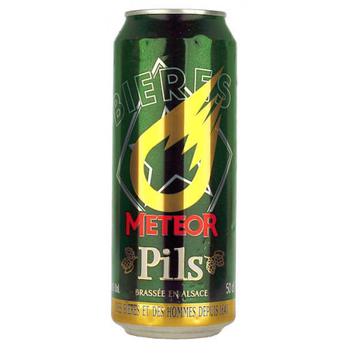Meteor Pils Can
