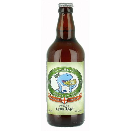 Mighty Hop Brewery Lymebrau Pilsner