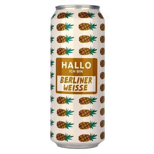 Mikkeller Hallo Ich bin: Berliner Weisse Pineapple Can