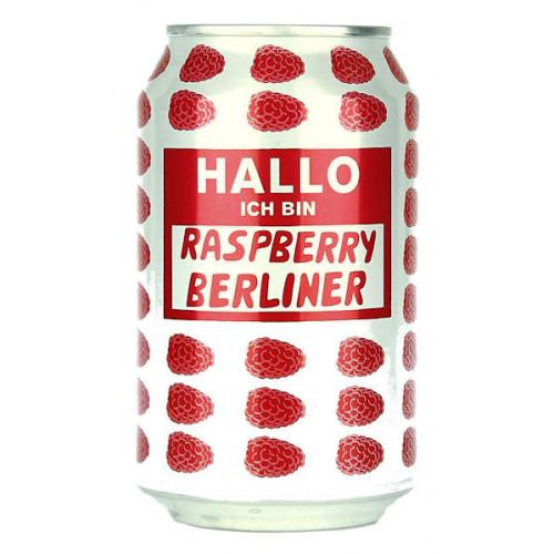 Mikkeller Hallo Ich bin: Berliner Weisse Raspberry Can