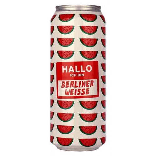 Mikkeller Hallo Ich bin: Berliner Weisse Watermelon Can