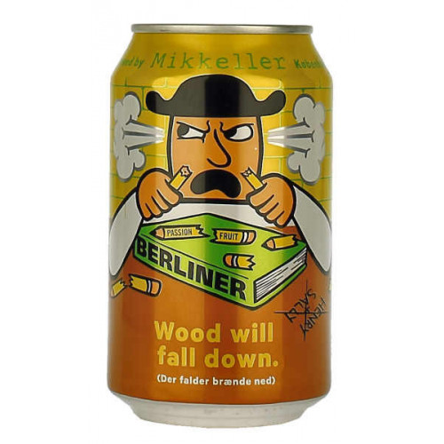 Mikkeller Wood Will Fall Down Can (B/B Date 23/01/19)