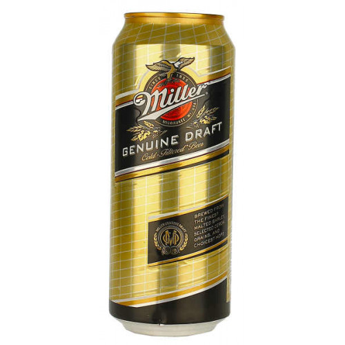Miller Genuine Draught (Can)