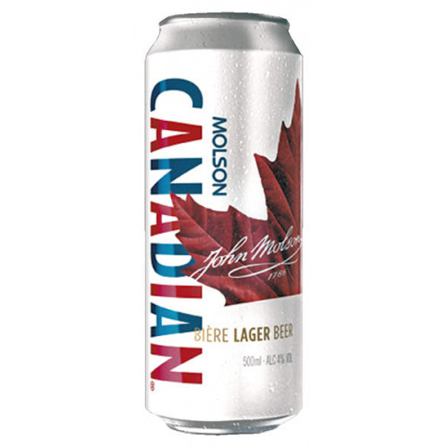 Molson Canadian Can