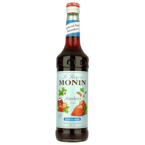 Monin Reduced Sugar Strawberry