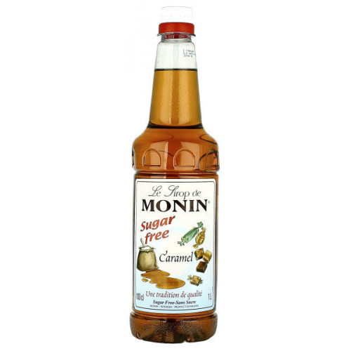 Monin Caramel Sugar Free 1 Litre