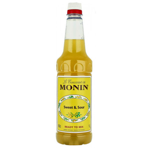 Monin Sweet and Sour 1 Litre