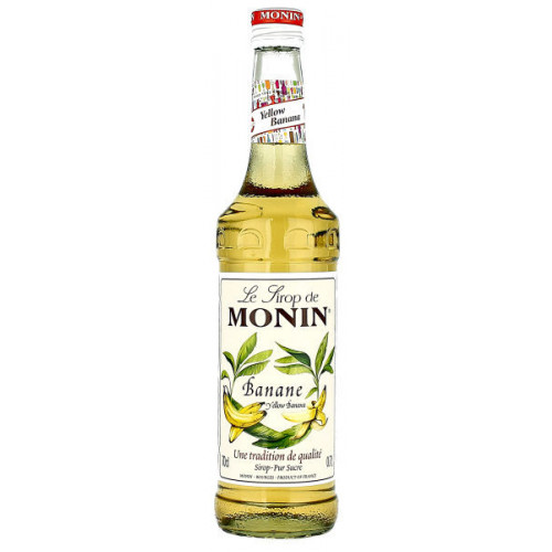 Monin Yellow Banana