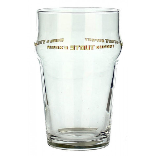 Monks Stout Dupont Tumbler Glass