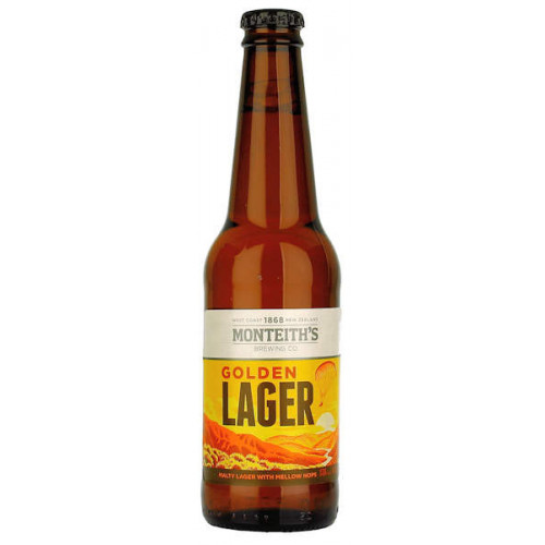 Monteiths Golden Lager