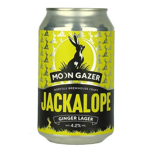 Moon Gazer Jackalope Ginger Lager Can