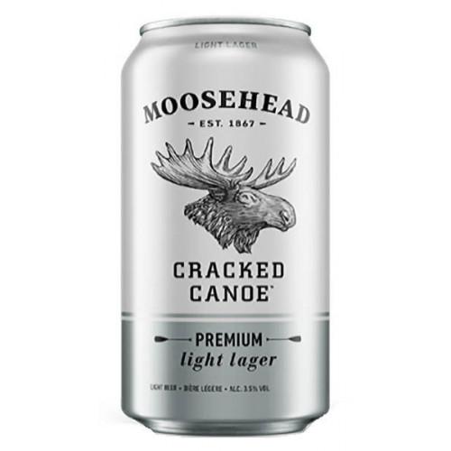 Moosehead Cracked Canoe Can