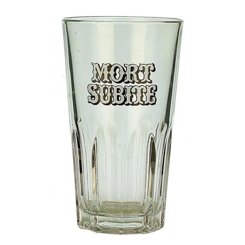 Mort Subite Tumbler Glass