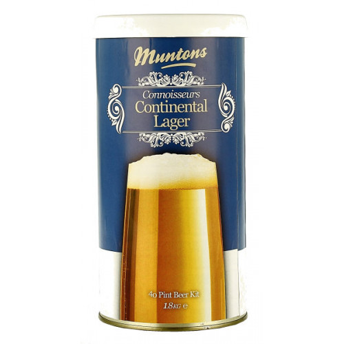Muntons Connoisseurs Continental Lager Home Brew Kit
