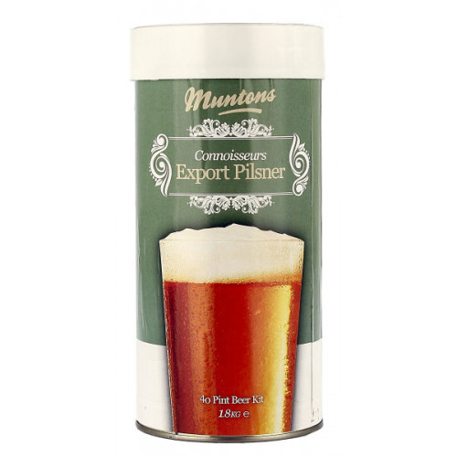 Muntons Connoisseurs Export Pilsner Home Brew Kit