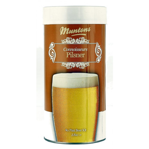 Muntons Connoisseurs Pilsner Home Brew Kit