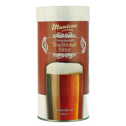 Muntons Connoisseurs Traditional Bitter Home Brew Kit