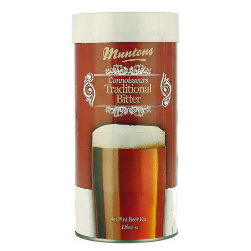 Muntons Connoisseurs Traditional Bitter Home Brew Kit