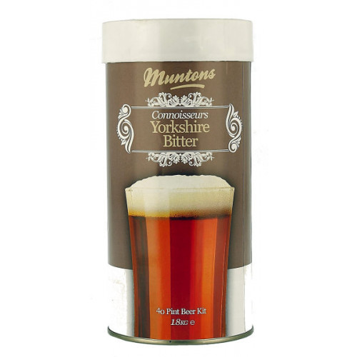Muntons Connoisseurs Yorkshire Bitter Home Brew Kit