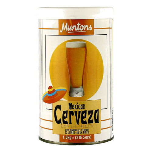 Muntons Premium Mexican Cerveza Home Brew Kit