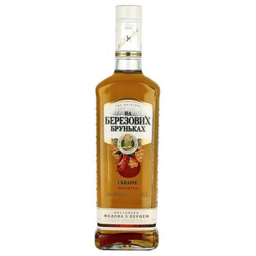 Na Beryozovikh Brunkakh Honey and Pepper Vodka