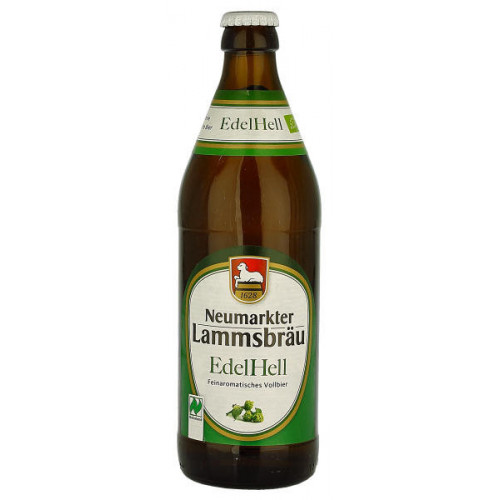 Neumarkter Lammsbrau Edel Hell (B/B Date 28/07/19)