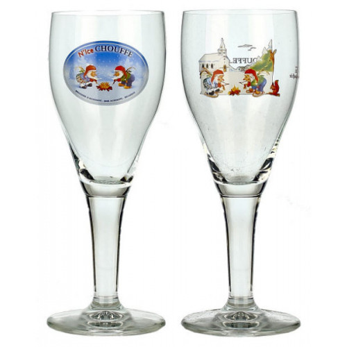 N'ice Chouffe Goblet Glass 0.25L