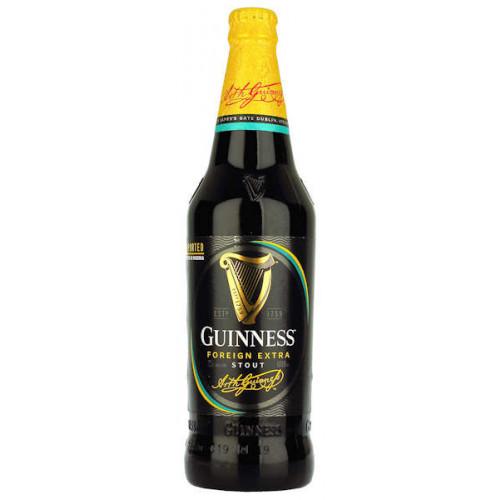 Guinness Foreign Extra Stout (Nigerian) 600ml (B/B Date 23/04/19)