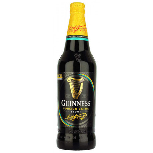 Guinness Foreign Extra Stout (Nigerian) 600ml (B/B Date 27/09/19)