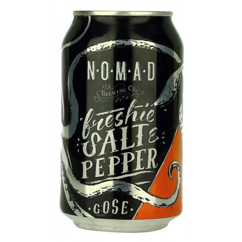 Nomad Freshie Salt and Pepper Gose Can