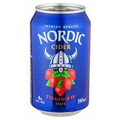 Nordic Strawberry Cider