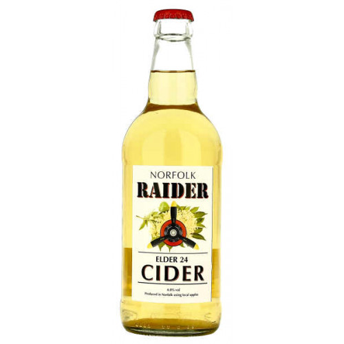 Norfolk Raider Elder 24 Cider