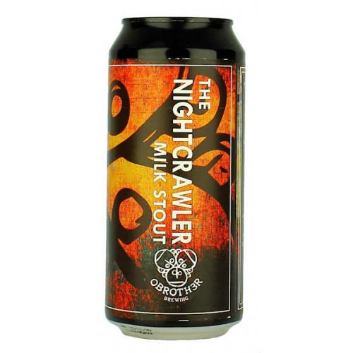 O Brother The Nightcrawler Milk Stout Can